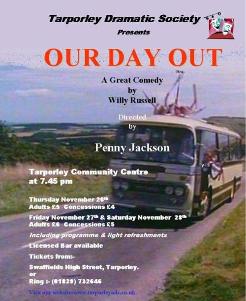 essays our day out by willy russell Willie russell's our day out is a play which uses humour which covers some serious issues including some serious messages the play is.